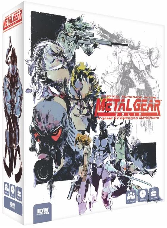 Konami zapowiedziało planszówkę Metal Gear Solid: The Board Game